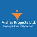 Logo of Vishal projects  pvt.