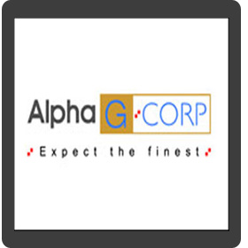 Logo of AlphaG:CorpDevelomen Pvt.Ltd.