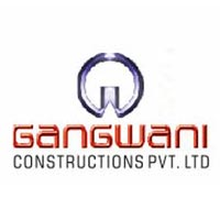 Logo of gangwani construction
