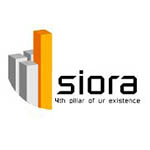 Logo of Siora Infrastructures Pvt., Ltd.