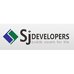 Logo of SJ Developers.
