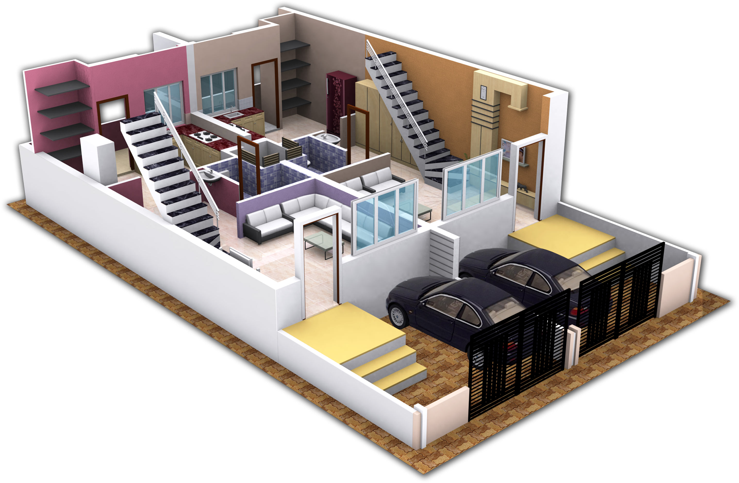kothari housing project by kothari builders amp developers 3 room floor plans for extension 3 best home and house