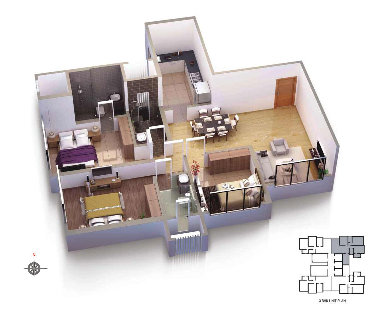 Raj Infinia Project By Rajesh Lifespaces Builder Mumbai