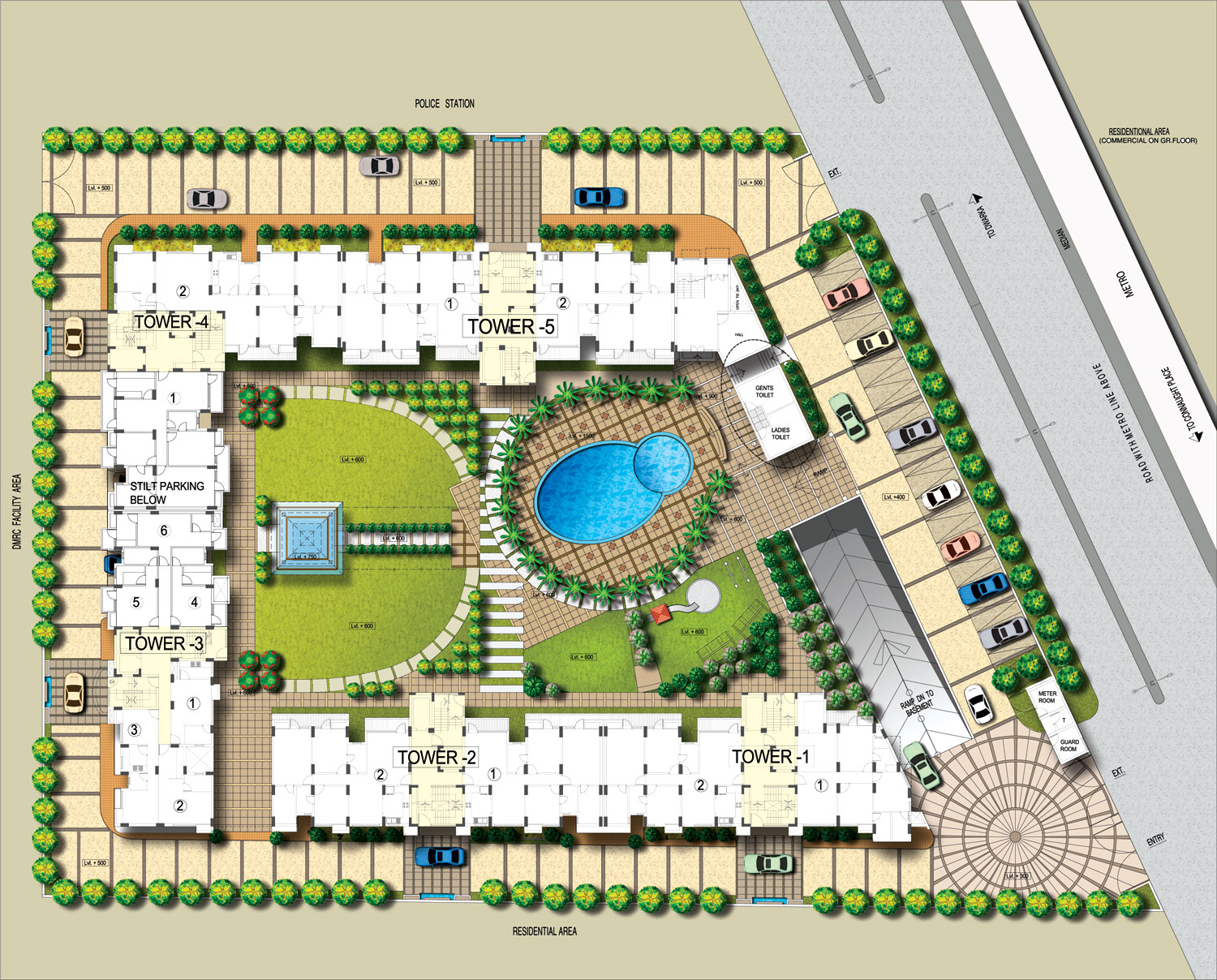 Parsvnath paramount project by parsvnath developers ltd for Website build project plan