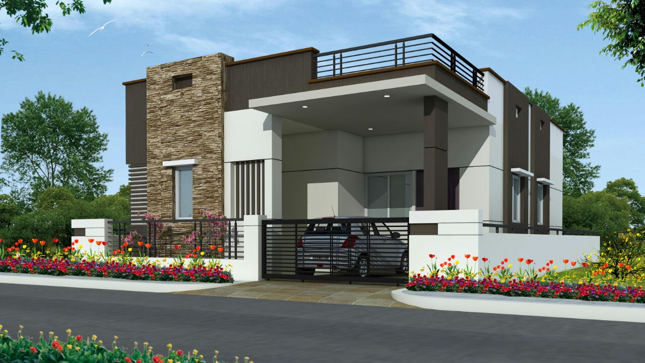 Property in hyderabad real estate in hyderabad for Individual house models in chennai